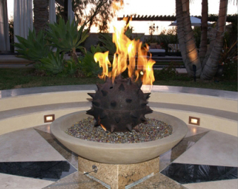 Metal Fire Pit Design
